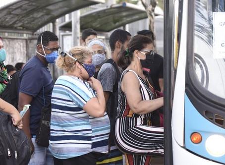 Diminuição na frota de ônibus propicia maior contaminação por covid-19 e força novas dinâmicas