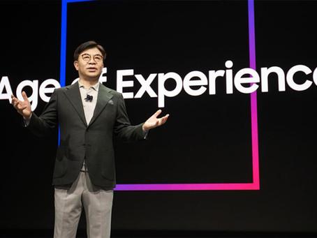 Samsung Electronics anuncia a 'Era da Experiência' na CES 2020