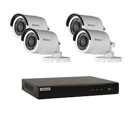Комплект видеонаблюдения Hiwatch-4улица.
