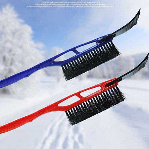 Blue Snow  Brush with Glass Scrapper