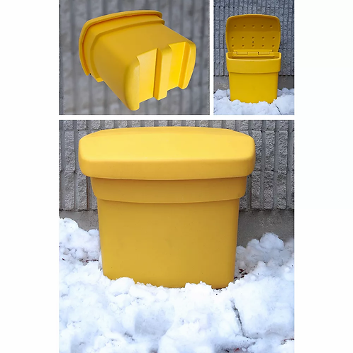 Outdoor Salt Storage Bin (Included with ProMelt Treated Salt)