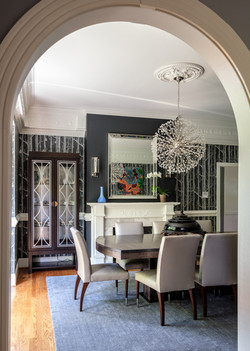 Dining Room - Archway - no lights