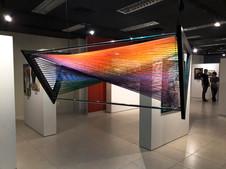 PRISMA LINEAR   Premiação 3º Lugar Arte Contemporânea Obra do 4º Salão de Artes de Mogi Centro Cultural de Mogi das Cruzes (Escultura Contemporânea)