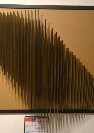 PINTURA TRIDIMENSIONAL  Obra do 3º Salão de Artes de Mogi Centro Cultural de Mogi das Cruzes (Escultura Contemporânea)