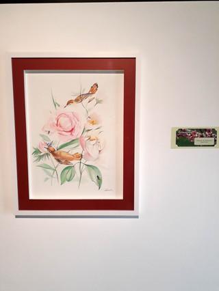 ENTRADA DA PRIMAVERA  Obra Exposição da Primavera 2018 Centro Cultural de Mogi das Cruzes (Guache)