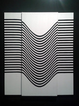 LINHAS  Obra do 2º Salão de Artes de Mogi Centro Cultural de Mogi das Cruzes (Pintura a óleo)