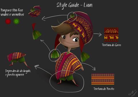 STYLE GUIDE LIAM  Machu Picchu