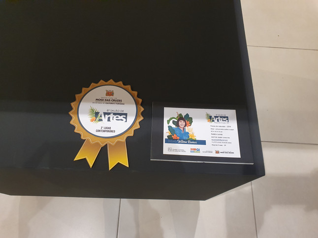 FACES DA NATUREZA   Premiação 2º Lugar Arte Contemporânea Obra do 6º Salão de Artes de Mogi Centro Cultural de Mogi das Cruzes (Escultura Contemporânea)