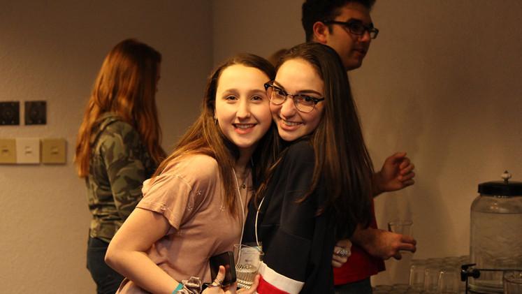 Youth Ambassadors Victoria and Becca