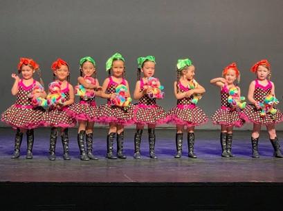 Our V-Kids on stage