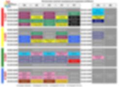 Расписание Лавиданза c 27.01.20 (цветное