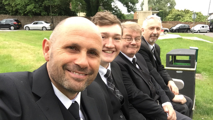 Dean, Daniel, Colin and Stef