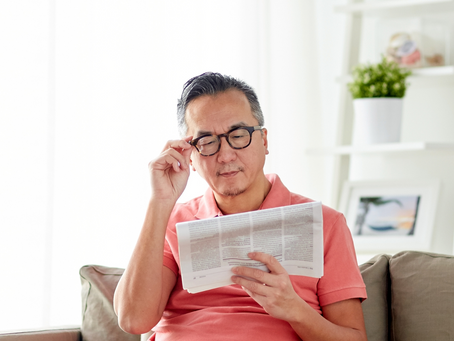 5 signs you need new glasses