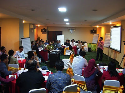 PNPM implementer and journalist training