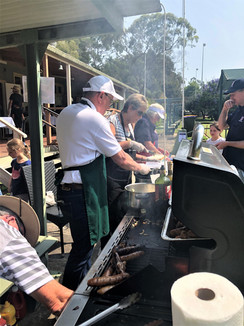 All day sausage sizzle MRB&PC Fund raise