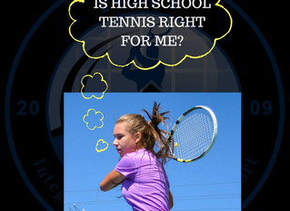 Is High School Tennis Right For Me?