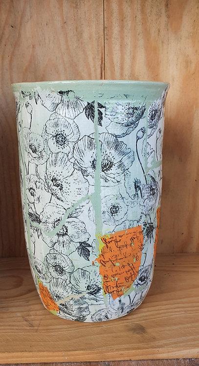 Vase 20cm Collage
