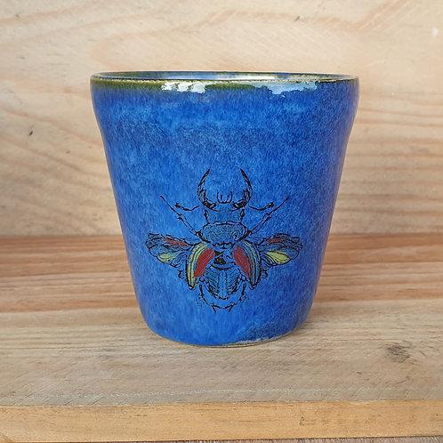 Kaffeebecher Käfer