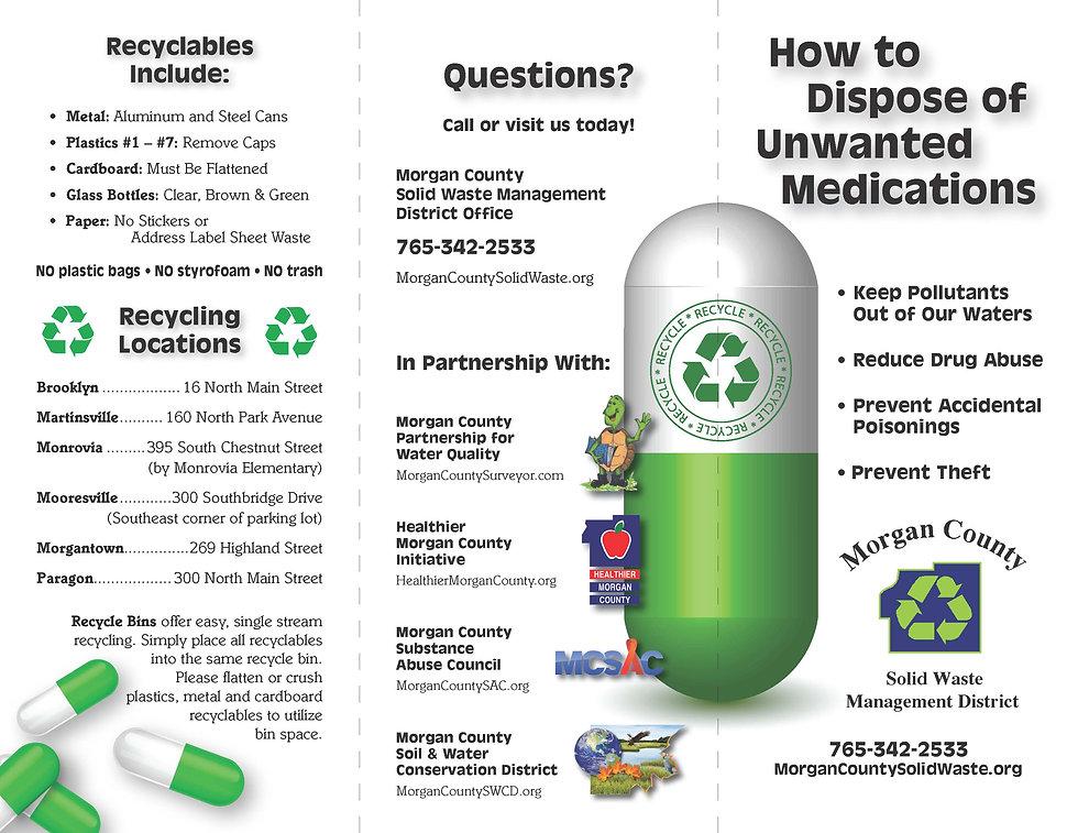 2016 Medication Disposal - brochure_Page