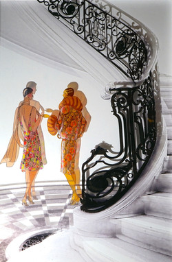 escalier 1900