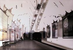 metro ouvert 2014 50x75cm