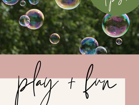 Play + Fun Tips for Creative Entrepreneurs