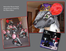 Nutcracker mouse heads collage kjh