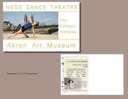 Neos Akron collage postcard 2015