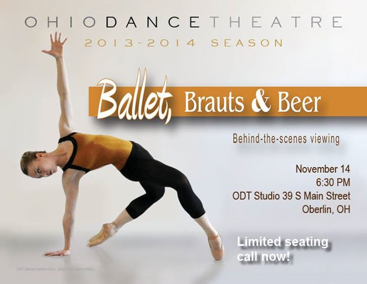 Ballet, Brauts and Beer
