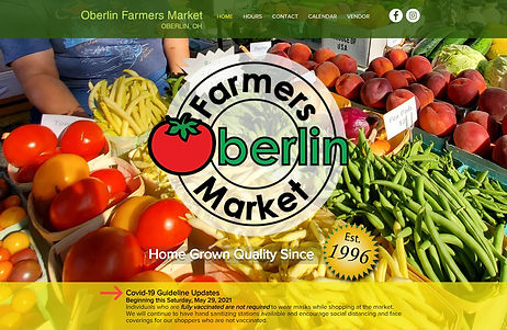 Oberlin Farmers Market Home page