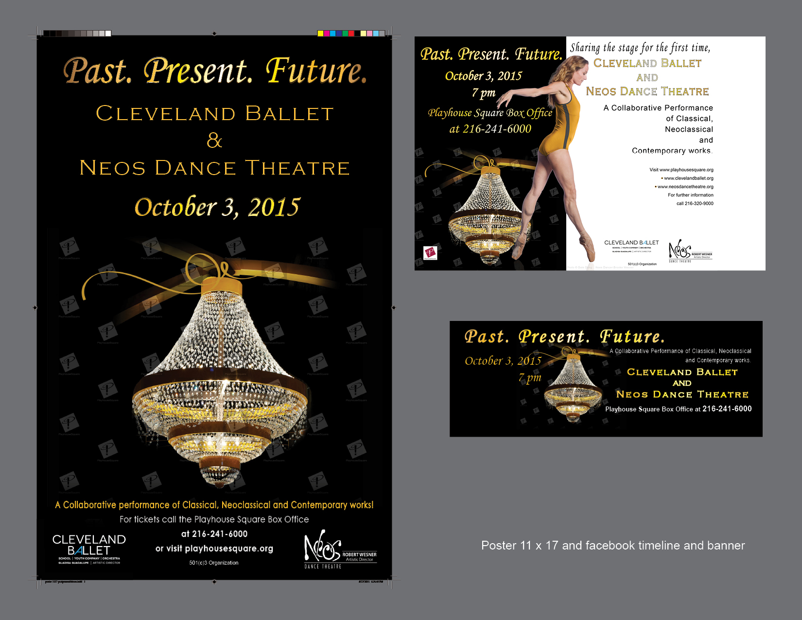 Neos with Cleveland Ballet poster