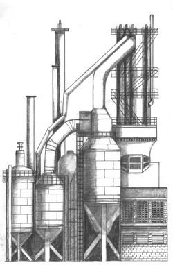 Tube plant blast furnace