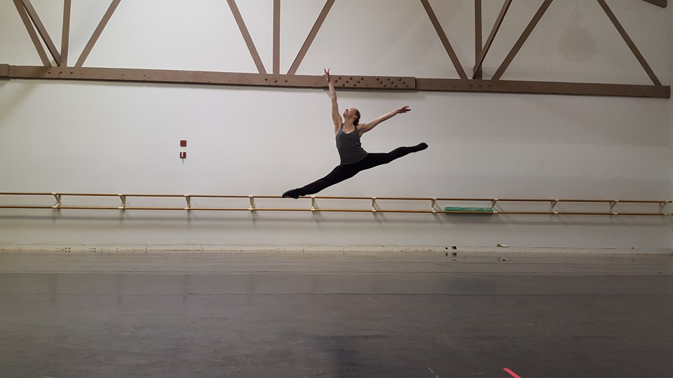 Kasha K Hilton at Lou Conte Dance Studio