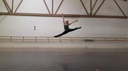 Kasha K Hilton at Lou Conte Dance Studio