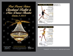 Neos with Cleveland Ballet postcard 2015