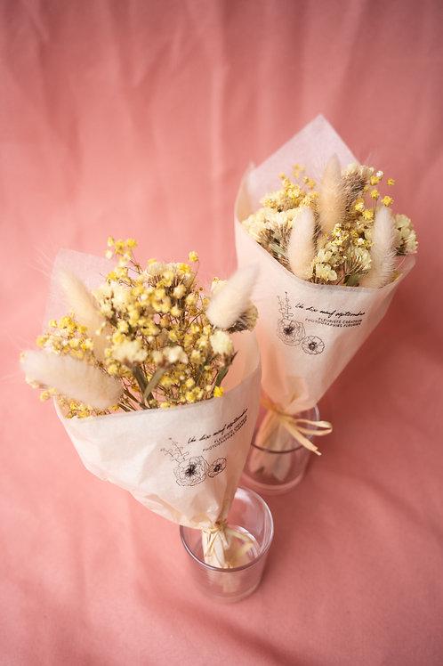 """Duo de mini bouquets """"Yellow submarine"""""""