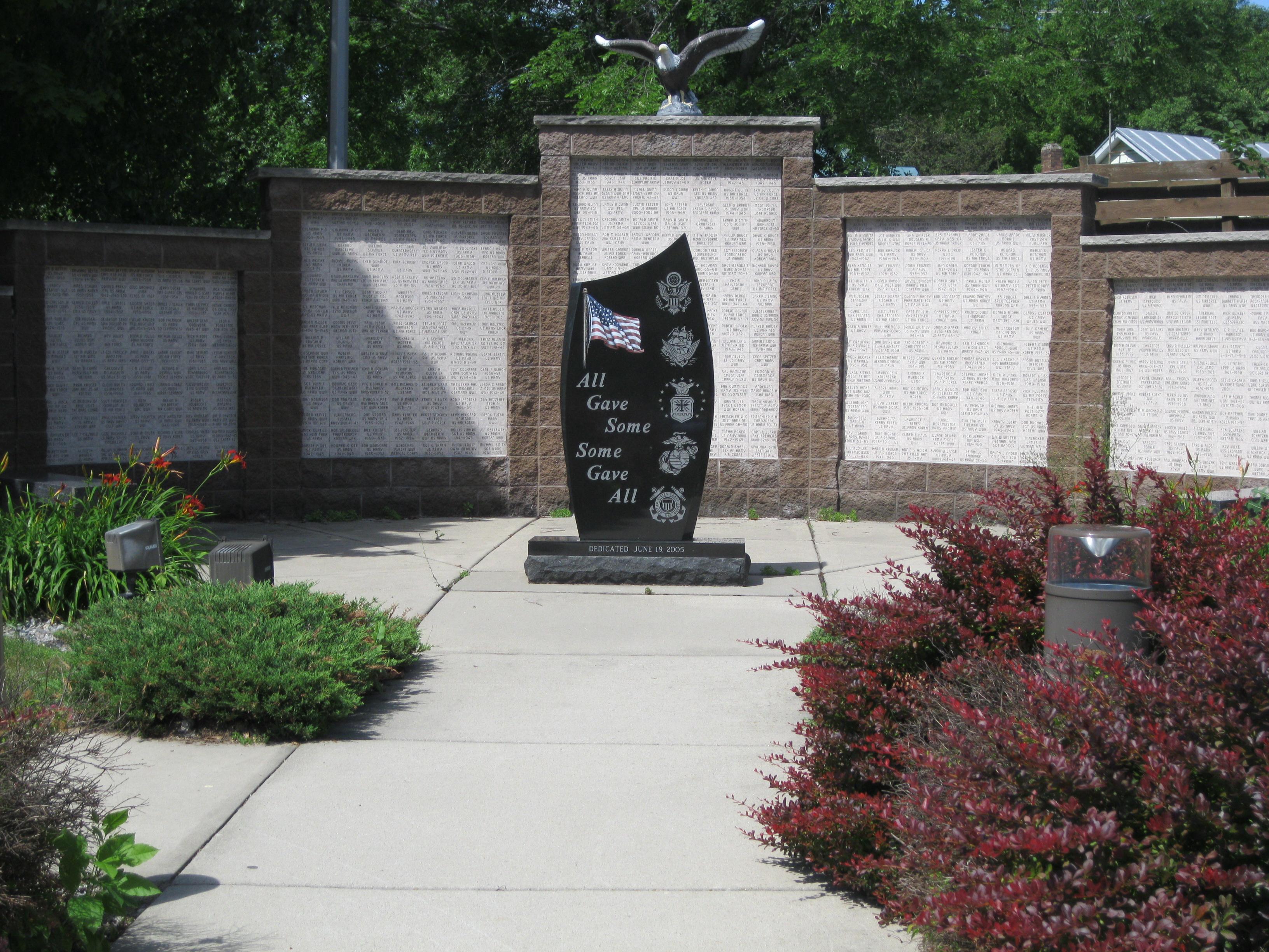 Military Memorial, Westfield