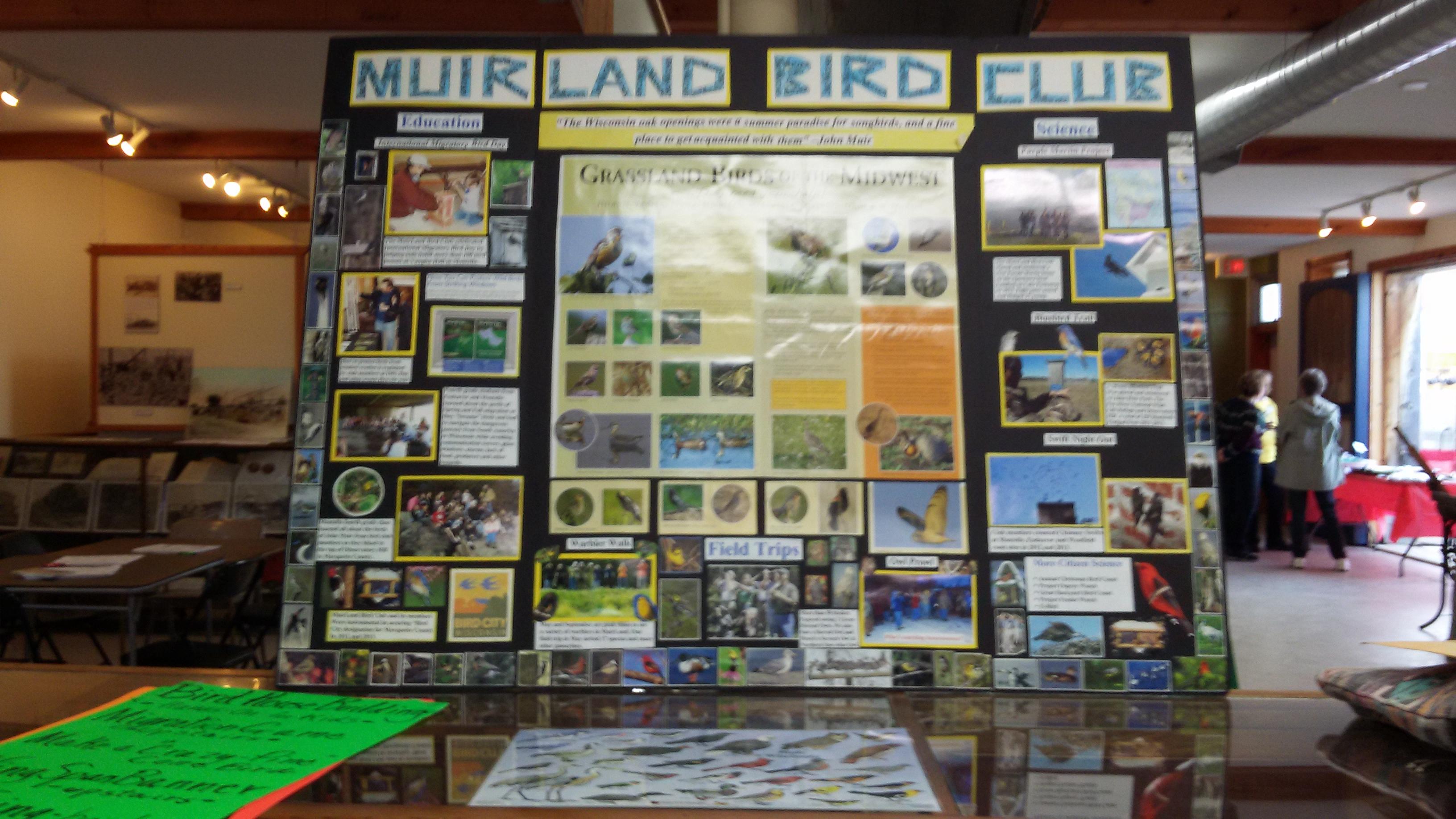 Muirland Bird Club