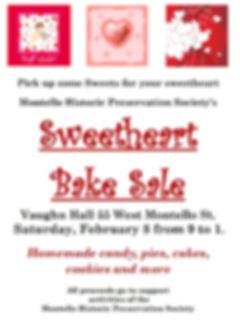 Events - Sweetheart Bake Sale