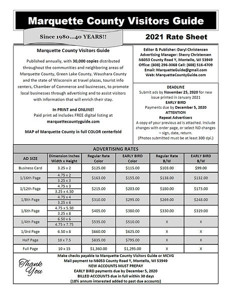 MCVG 2021 Rate Sheet - Updated 05MAY2020