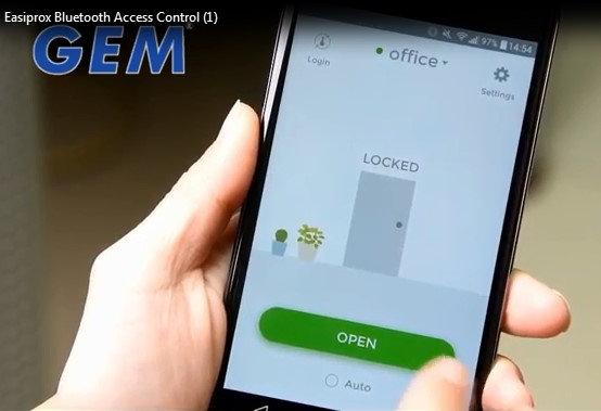 Control de acceso vía bluetooth- Easiprox +