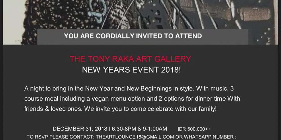 TONYRAKA New Years Event 2018