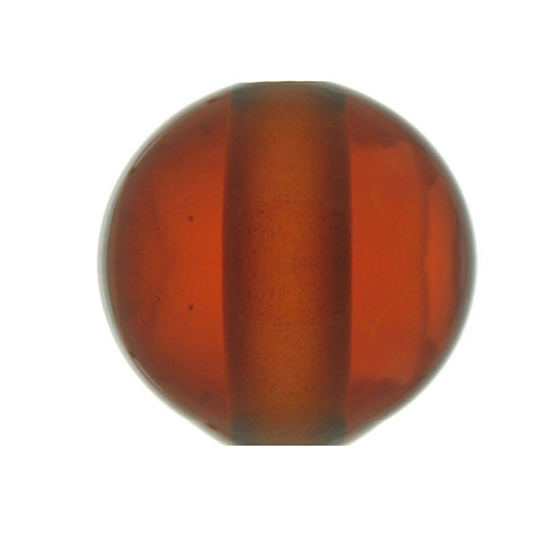 Amber Glass Break 50mm with 1/8 ip slip hole