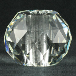 Faceted Crystal Prism Break, 60mm clear, 7061