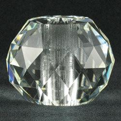Faceted Crystal Prism Break, 60mm clear, 7061