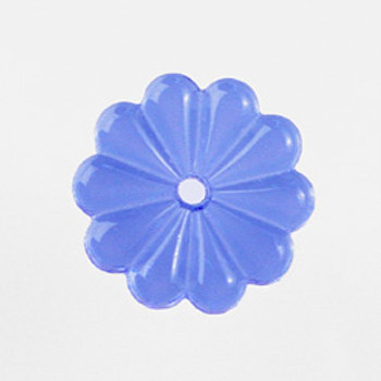 Color rosette glass prism, 4 colors, 25mm with center hole