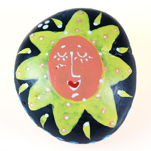 """""""You Are Blessed"""" Hand-painted stone for home Decor"""