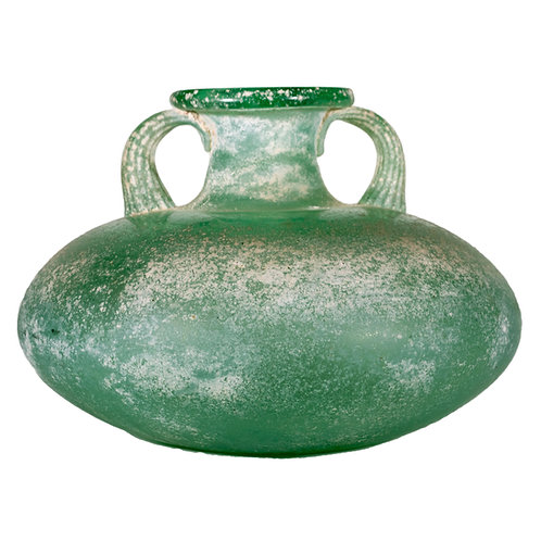 Maurano Hand Blown Squat Urn