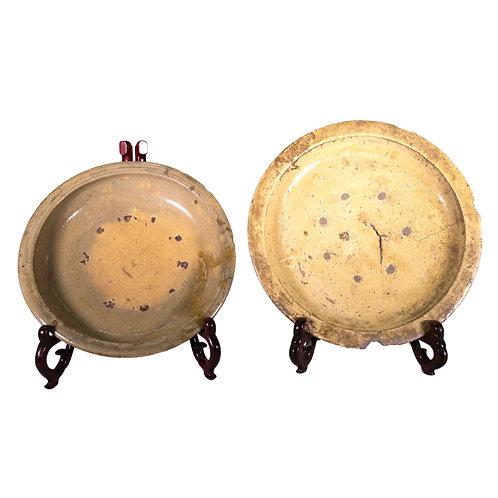 CurioHome Exclusive - Pair of Large Antique Japanese Plates