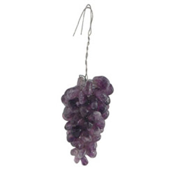 Quartz grape cluster, quartz crystal fruit, two colors & Sizes, q-434